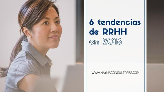 Tendencias RRHH en 2016